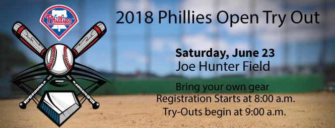 2018 Phillies Open Try Out