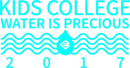 Kids College Water is Precious Logo