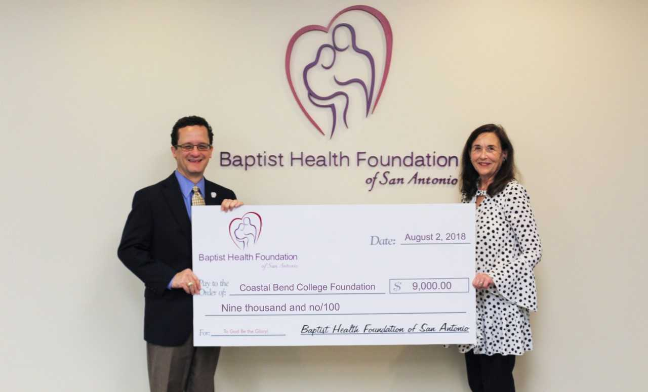 Baptist Health Foundation Check Pic