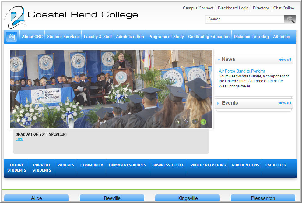 coastal bend college blackboard Beeville
