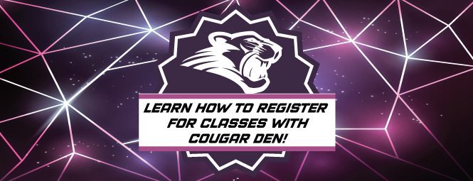 How To Register at the Cougar Den